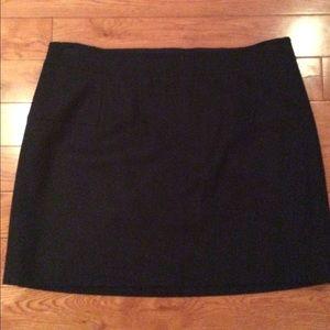 J.Crew Navy Wool Mini skirt sz 14 (NWT)